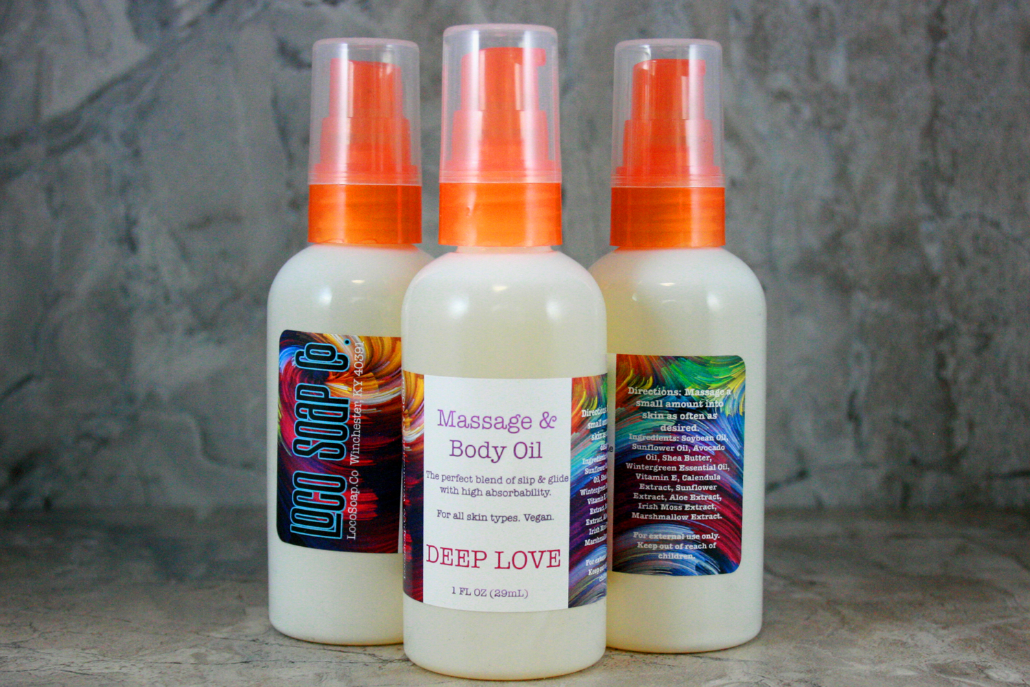 Deep Love Massage & Body Oil